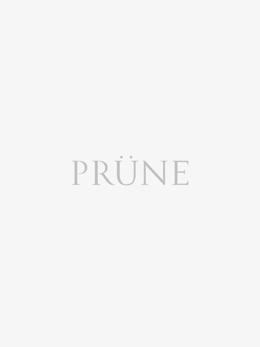 Mini Bag Gardenia En Cuero Metalizado